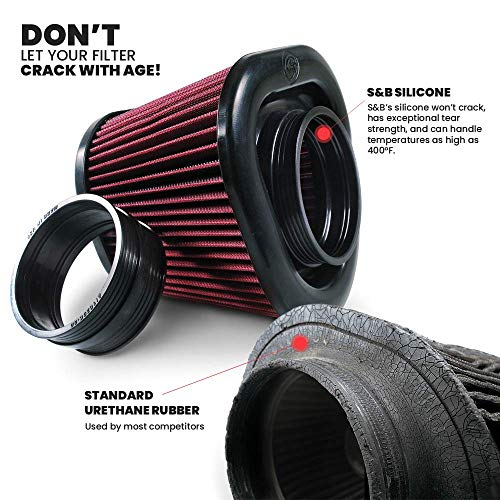 S&B Filters 75-5091 Cold Air Intake For 2007-2010 Chevy/GMC Duramax 6.6L (Oiled Cleanable, 8-ply Cotton Filter) - DieselTrucks.com