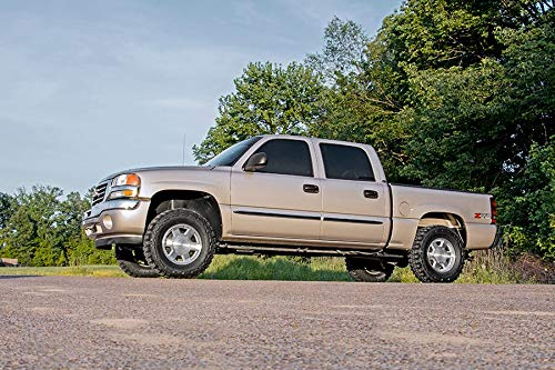 "Rough Country 28330 Leveling Lift Kit N3 Shocks 2.5"" (fits) 1999-2006 Chevy Silverado GMC Sierra 1500 4WD 