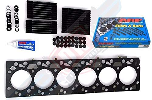 MAHLE Head Gasket with ARP Head Stud Kit For 2007-2017 Dodge 6.7L 6.7 Cummins 2500 3500 (Head Gasket Studs) - DieselTrucks.com