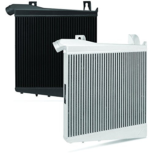 Mishimoto MMINT-F2D-08SL Performance Intercooler Fits Ford 6.4 Powerstroke 2008-2010 Silver - DieselTrucks.com