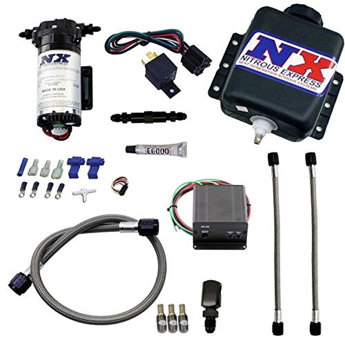 Nitrous Express 15031 Water-Methanol Injection System for Diesel Stage 2 Engine - DieselTrucks.com