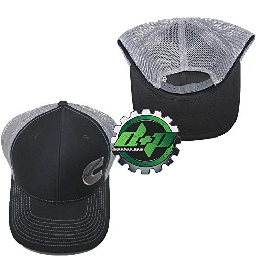 Diesel Power Plus Dodge Cummins Richardson Ball Cap hat Black w/Gray Summer mesh snap Back - DieselTrucks.com