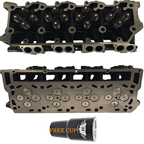2 x NEW Improved 6.0 Ford Powerstroke Diesel LOADED Cylinder Head PAIR 03-07 No Core (18MM) - DieselTrucks.com