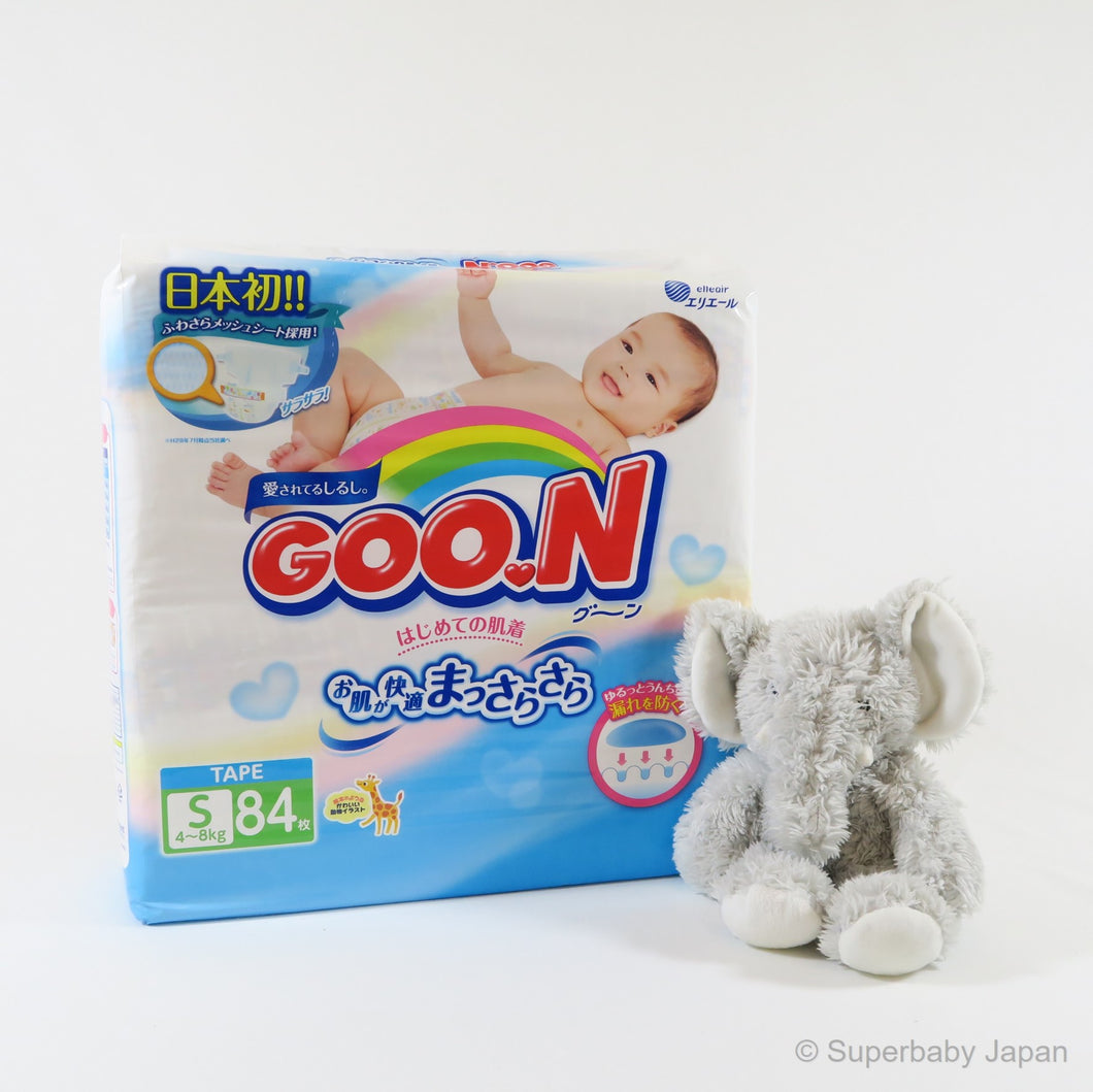 GOO.N nappies - Small - 84 pieces (single pack) - Superbaby Japan