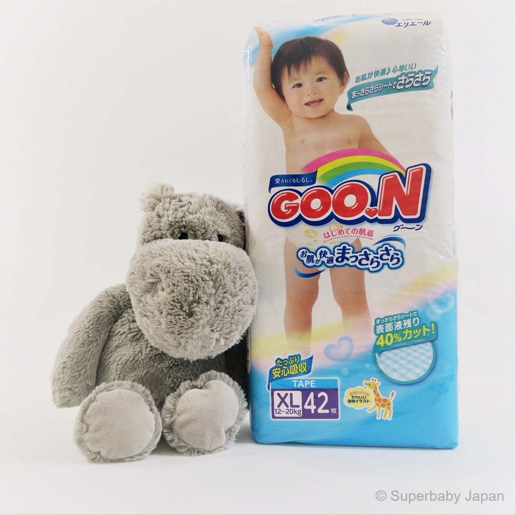 GOO.N nappies - XLarge - 42 pieces (single pack) - Superbaby Japan
