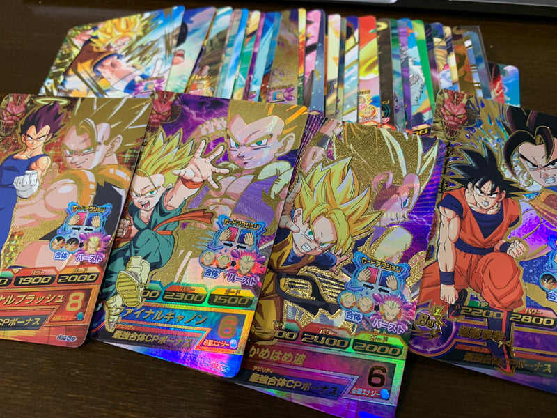 DRAGON BALL HEROES GM2 cards are available