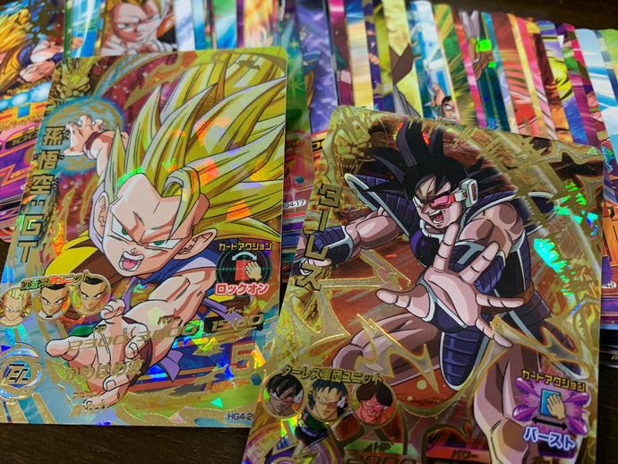 DRAGON BALL HEROES GM4 cards are available