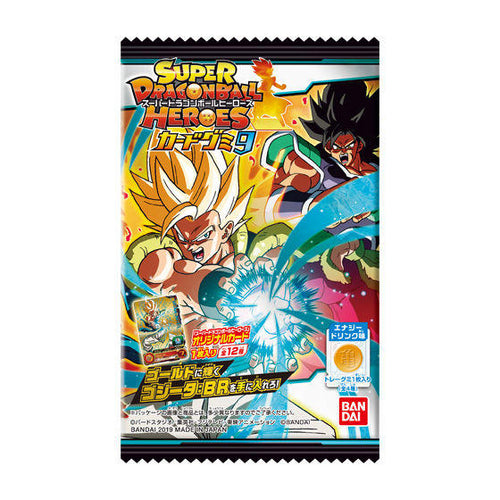SUPER DRAGON BALL HEROES CARD GUMI 9 (BOX)