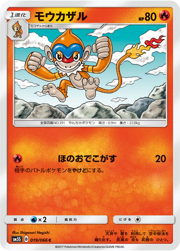 Pokémon card game / PK-SM5S-019 C