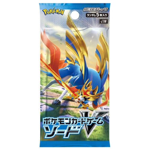 [S1W] POKÉMON CARD GAME Sword & Shield Expansion pack 「Sword」 Booster