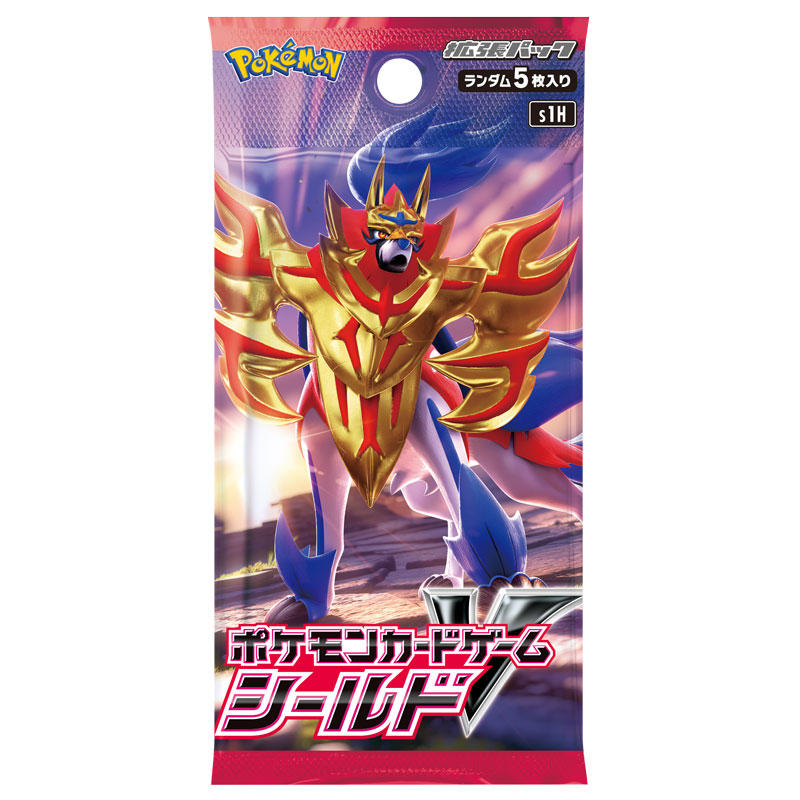 [S1H] POKÉMON CARD GAME Sword & Shield Expansion pack 「Shield」 Booster