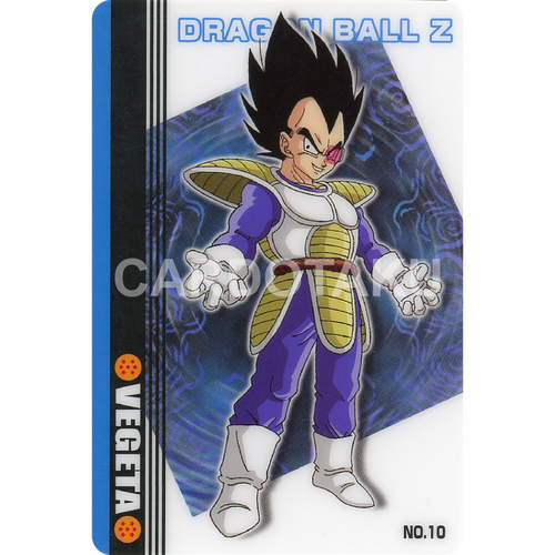 DRAGON BALL GUMI card 2003 Part 1 NO.10 Vegeta