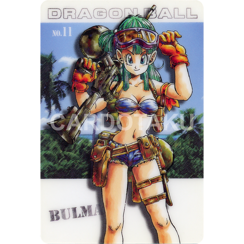 DRAGON BALL GUMI card 2003 Part 1 NO.11 Bulma