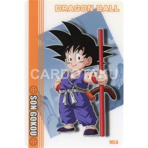 DRAGON BALL GUMI card 2003 Part 1 NO.6 Son Goku