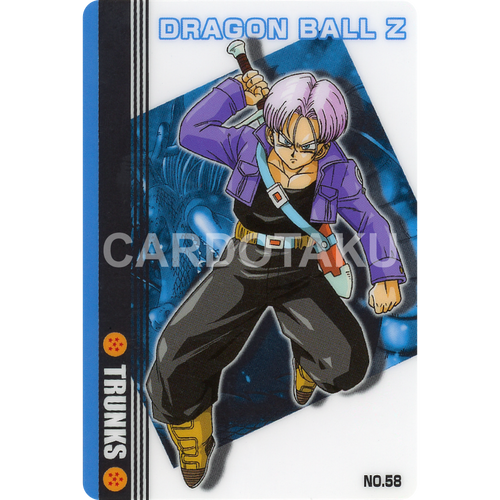 DRAGON BALL GUMI card 2004 Part 3 NO.58 Trunks