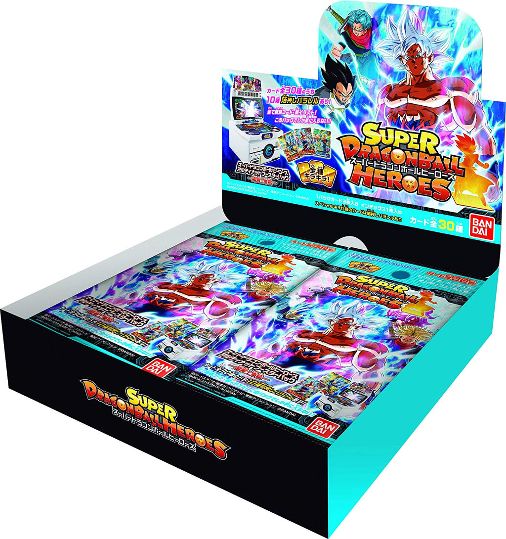 SUPER DRAGON BALL HEROES ULTIMATE BOOSTER PACK PUMS4 Full