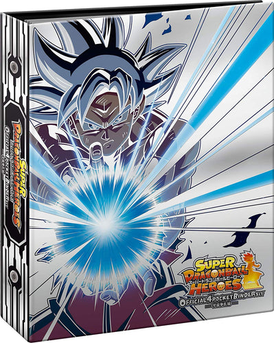 SUPER DRAGON BALL HEROES OFFICIAL 4 POCKET BINDER SET - Uchuu Souran Hen -