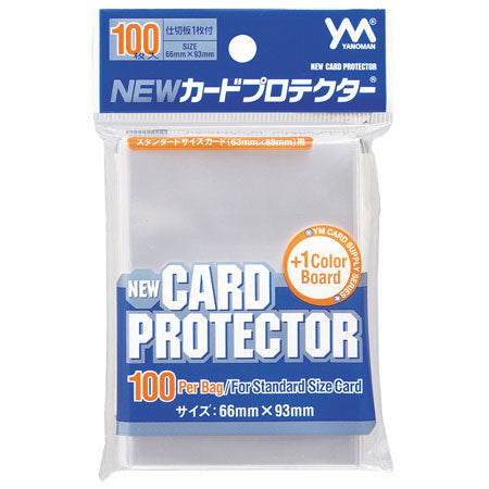 YANOMAN NEW CARD PROTECTOR 66 x 93 mm / 100