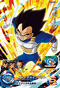 SUPER DRAGON BALL HEROES BM1-024 Super Rare card Vegeta