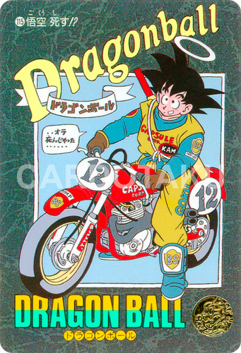 DRAGON BALL Z Visual Adventure 115 Son Goku BANDAI 1991