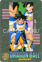DRAGON BALL Z Visual Adventure 208 Son Goku, Vegeta, Truncks and Son Gohan BANDAI 1992