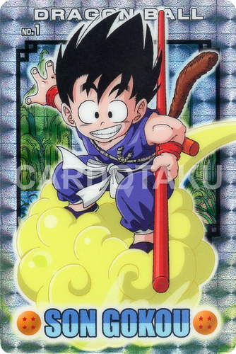 DRAGON BALL GUMI card 2006 Part 1 NO.1 Son Goku