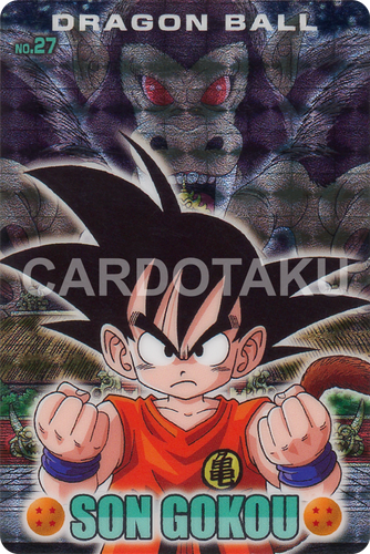 DRAGON BALL GUMI card 2006 Part 2 NO.27 Son Goku