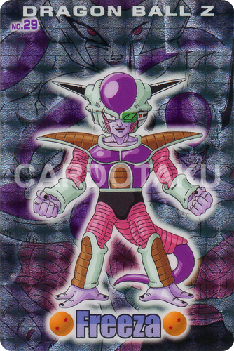 DRAGON BALL GUMI card 2006 Part 2 NO.29 Frieza