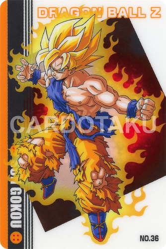 DRAGON BALL GUMI card 2006 Part 2 NO.36 Son Goku