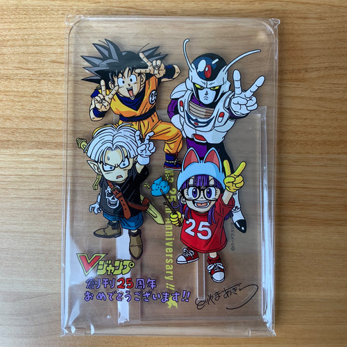 V JUMP 25th Anniversary !! 2018 TGS limited acrylic trophy