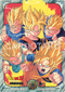 DRAGON BALL Z JUMBO CARDDASS 1 SUPER SAIYANS Vegeta, Son Goku, Son Gohan, Trunks, Son Goten
