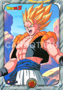 DRAGON BALL Z JUMBO CARDDASS 18 Gogeta