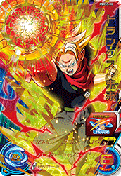 SUPER DRAGON BALL HEROES PBBS5-08 Trunks : Mirai