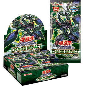 Yu-Gi-Oh! OCG Duel Monsters CHAOS IMPACT booster