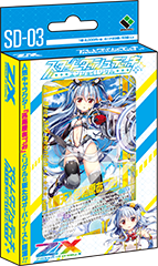 [SD-03] Z/X Zillions of enemy X  Starter Dash Deck Enjoy! Rigel