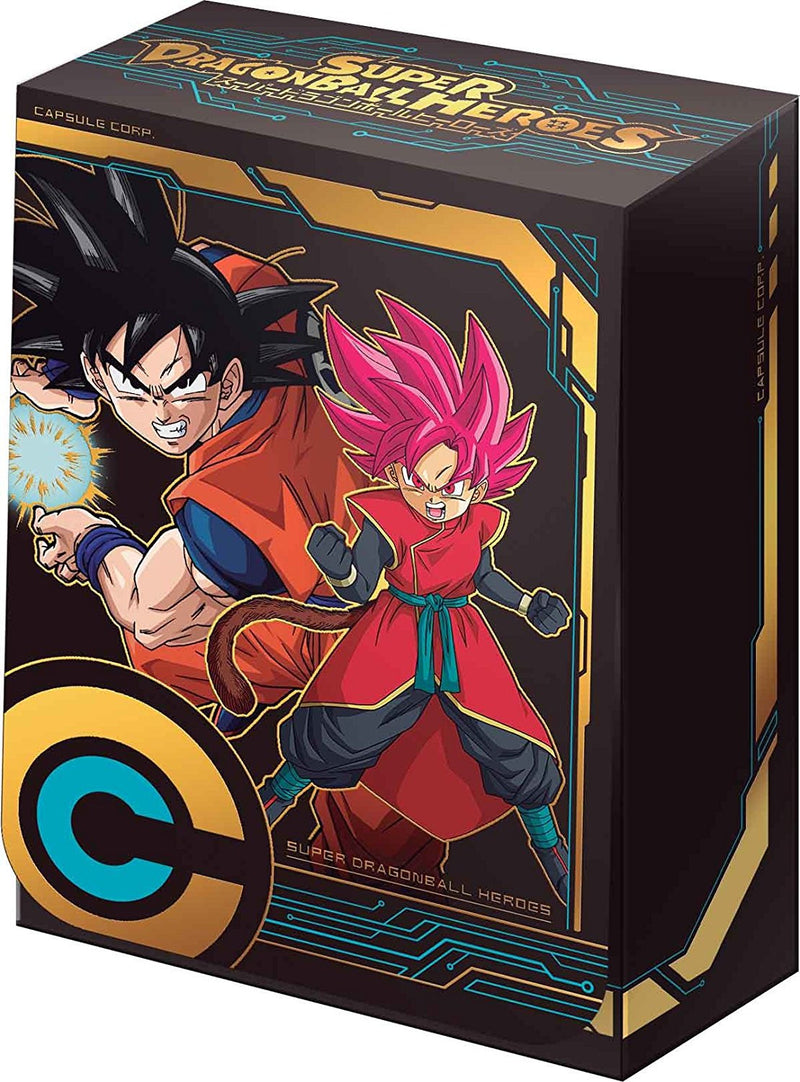 SUPER DRAGON BALL HEROES CHOZETSU DECK CARD CASE