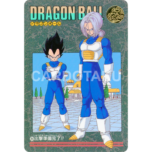 DRAGON BALL Z Visual Adventure 264 Vegeta, Trunks