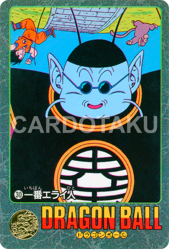 DRAGON BALL Z Visual Adventure 30 Son Goku, King Kai