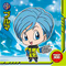 DRAGON BALL Seal Wafers W10-03 N Bulma