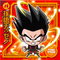 DRAGON BALL Seal Wafers W10-17 N Son Goten : Xeno