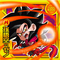 DRAGON BALL Seal Wafers W10-20 SR Son Goku : Xeno Super Saiyajin 4