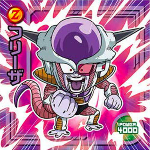 DRAGON BALL Seal Wafers W11-14 N Frieza