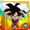 DRAGON BALL Seal Wafers W11-16 N Son Goku