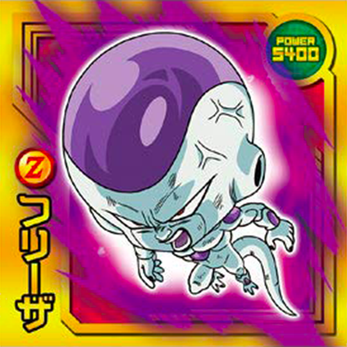 DRAGON BALL Seal Wafers W11-17 SR Frieza Freezer