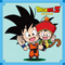 DRAGON BALL Seal Wafers W11-19 N+ Son Goku & Son Gohan