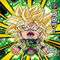 DRAGON BALL Seal Wafers W11-21 WGR Broly