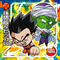 DRAGON BALL Seal Wafers W9-04 R Son Gohan & Piccolo