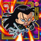 DRAGON BALL Seal Wafers W9-10 N Android 17