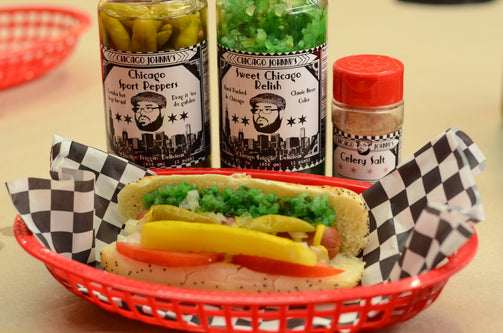 Chicago Style Hot Dog Kit