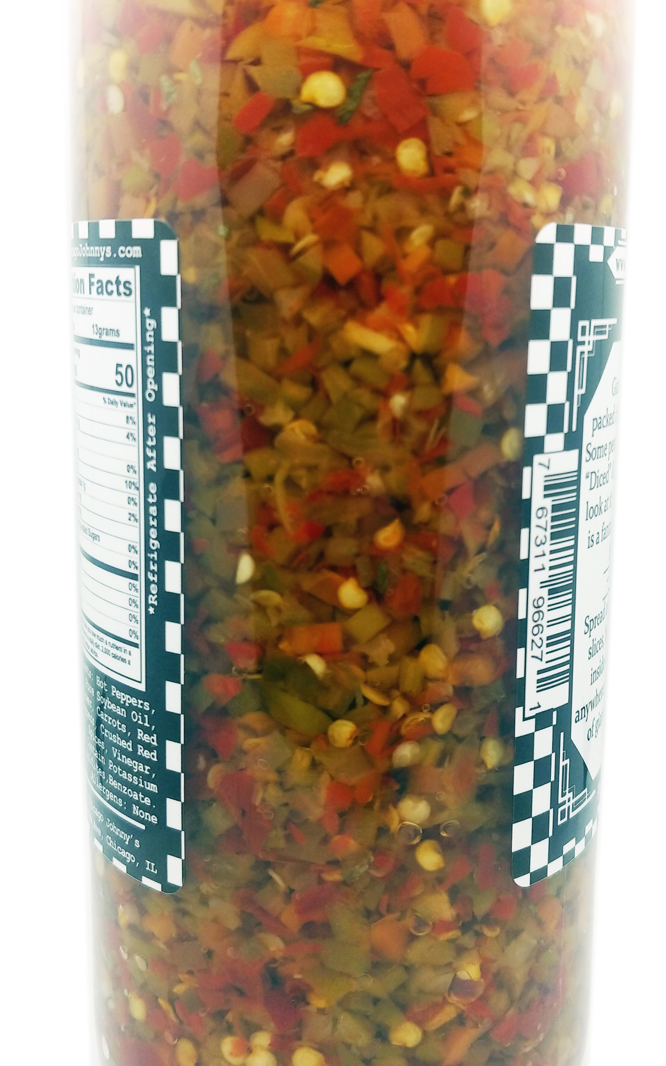 what does giardiniera look like
